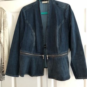 Jean jacket from Chico's